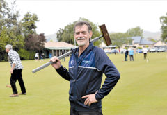 Greg Bryant, croquet's national head coach, is heartened by the sport's growth. Photo: Peter Jones.