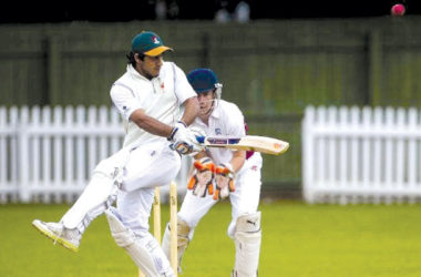 Akhil Pant scored a superb maiden century in Rangiora. File photo.